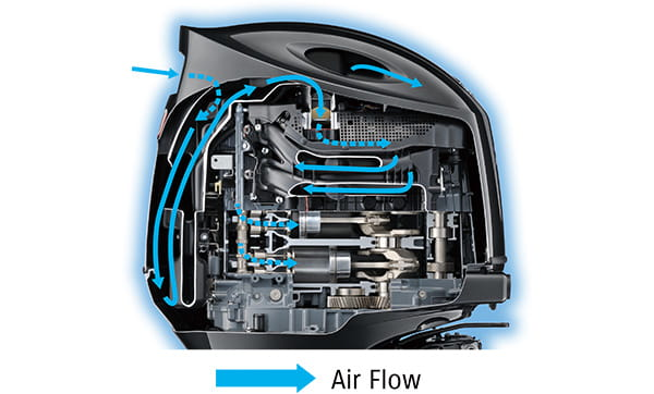Semi-Direct Air Intake System